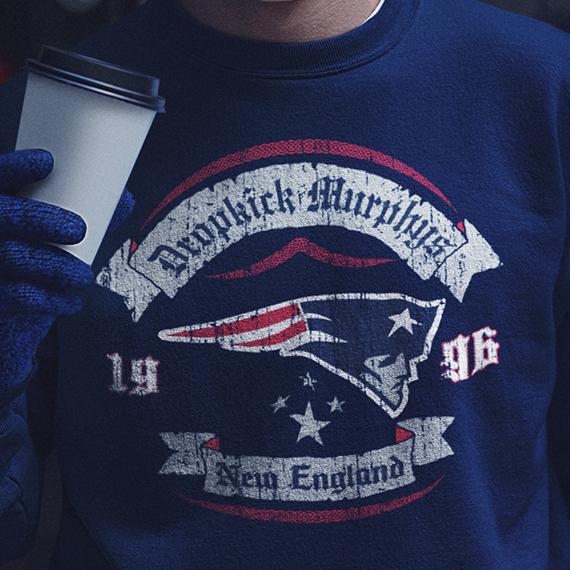 Dropkick Murphys x New England Patriots